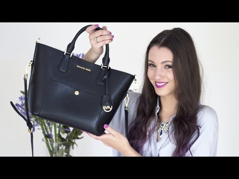 What's in my Bag? + Michael Kors Greenwich Bag Review