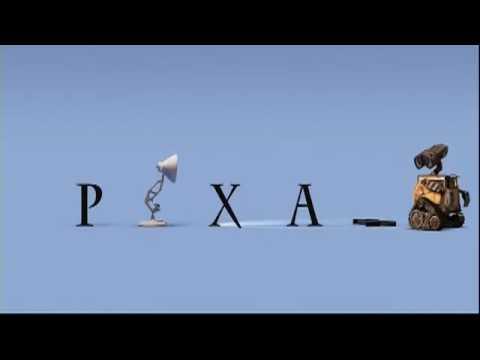 Wall - E & Pixar logo