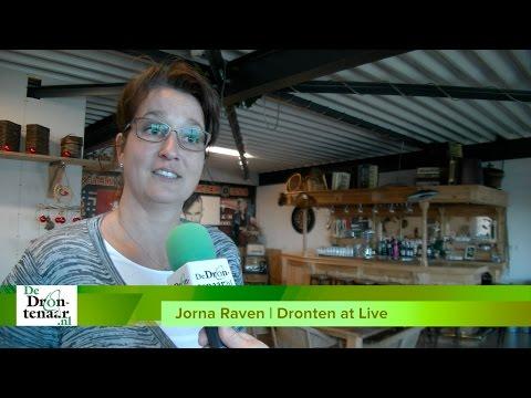VIDEO | Jorna Raven hoopt zaterdag op tweeduizend man bij Dronten at Live