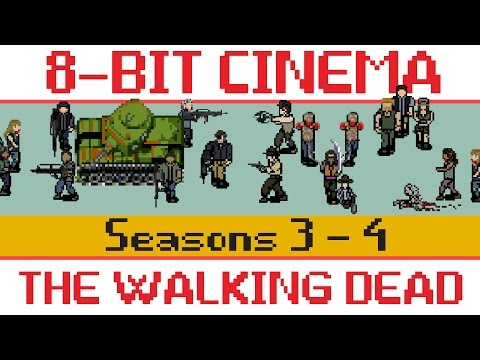 More Video Game Zombie Gore From An 8-Bit Version Of The Walking Dead