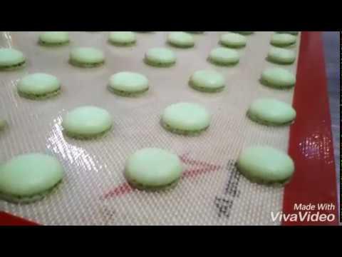 cara mudah membuat macaroon