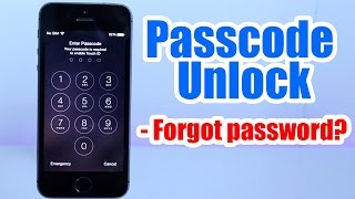 Passcode Unlock Iphone 5, 5S, 5C, 6, 6 plus, 4s, 4, / Forgot Passcode / Iphone Disabled any iOS