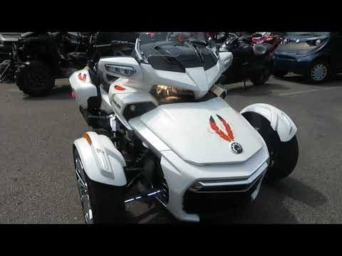 2016 Can-Am Spyder F3 Limited in Sanford, Florida - Video 1