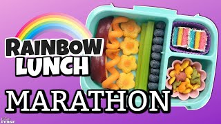 RAINBOW Lunch Idea MARATHON 🌈 Bunches Of Lunches