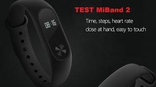 Xiaomi MiBand 2 test en français IP67, écran OLED, rythme cardiaque