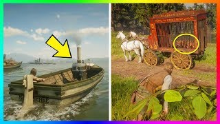 10 Unique & RARE Vehicles That You Didn't Know You Could Use In Red Dead Redemption 2! (RDR2)