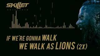 Skillet -  Lions [Lyrics Video]