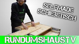 Umbau Der Bosch GTS 10 Zur Formatkreissäge Schiebetisch Selber Bauen MFT Teil 3