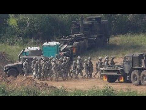 NKorea issues warning ahead of US-SKorea military drills