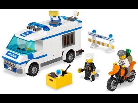Инструкция. Полицейская машина лего.