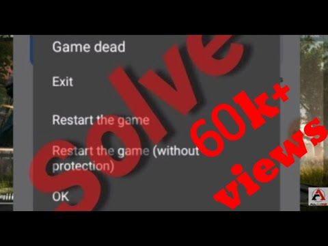 🔴 How to fix game dead problem in pubg ◼️  pubg game dead solved ◼️ how to hack pubg with proof💯