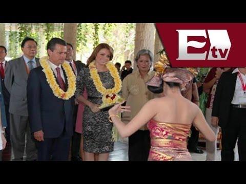 Enrique Peña Nieto visita Indonesia / Titulares de la mañana Vianey Esquinca