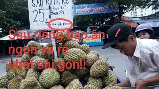Cơm sầu riêng hạt lép Ri6 25k bao ăn khui tại chổ không ngon không lấy tiền!!