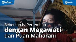 Gibran dan FX Hadi Rudyatmo Beberkan Isi Percakapan saat Pertemuan dengan Ketua Umum PDIP Megawati