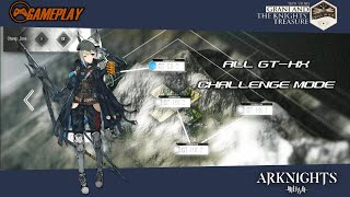 Doctor  - (Arknights) - Gameplay Arknights All GT-HX Challenge Mode   Side Story : Grani and the Knights' Treasure