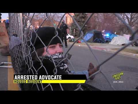 Arrested Advocate Speaks on Houseless Sweeps