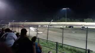 Modified Feature Creek County Speedway 8/2/14