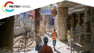 State Library Station works highlights - February 2021 to March 2021