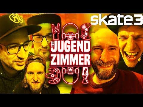 Jugendzimmer Vol. 20! - Der völlig verrückte Skate 3 Abend mit Krogi, Schröck, Hannes, Tim & Felix