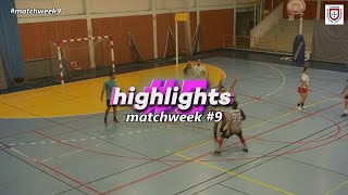 Best goals (Matchweek #9) – Portuguese Korfball Championship 2020-21