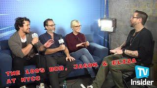 Eliza Taylor, Bob Morley & Jason Rothenberg - 06/10/18 - TVInsider