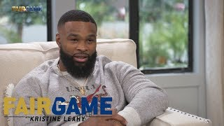 """Tyron Woodley: """"I was going to save this for the press conference, but..."""" 