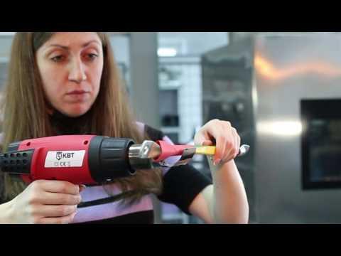 Способы усадки термоусаживаемых трубок