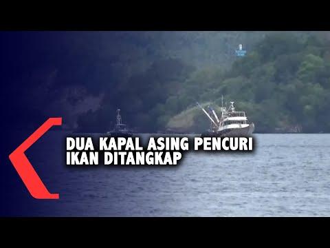dua kapal asing pencuri ikan ditangkap