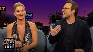 Christian Slater & Christina Applegate Kill Any Dating Rumors
