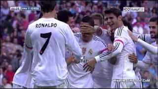 Liga BBVA - Real Madrid 2-0 Malaga | Highlights (19/10/2013)