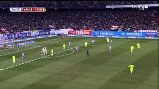 Atletico Madrid - Barcelona Highlights HD CdR 28.01.2015