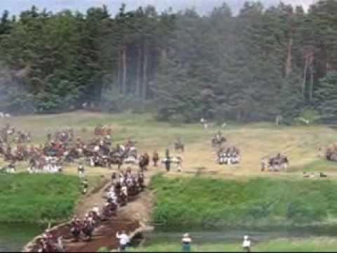 Реконструкция битвы под Фридландом 17 июня 2007