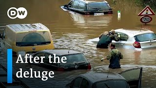 Deadly floods in Germany: What remains   Focus on Europe