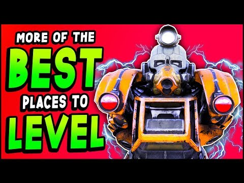 Fallout 76 - TOP 4 Places To FARM LEGENDARY Weapons & LEVEL FAST