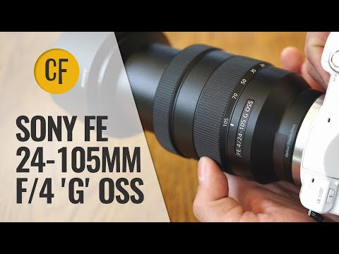 Sony FE 24-105mm f/4 G OSS lens review with samples (Full-frame & APS-C)