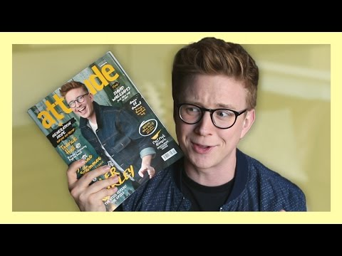 My Magazine Cover Shoot?! (Behind the Scenes) | Tyler Oakley