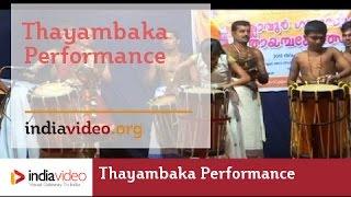 Thayambaka performance - Itanila