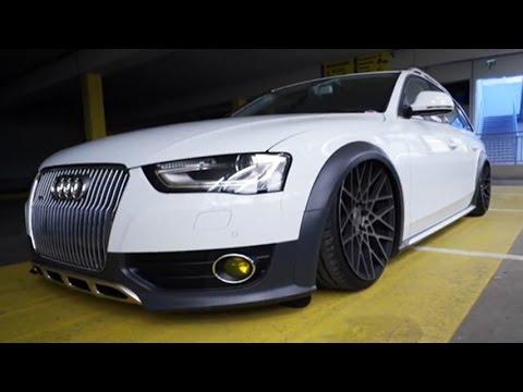 Rotiform BLQ Wheels on Audi Allroad