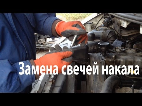 Замена свечей накаливания Hyundai H200 2.5TDi | How to Change Glow Plugs