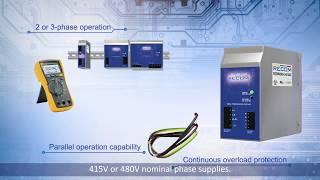 REDIN: DIN Rail mounted Power Supplies (English Subtitles)