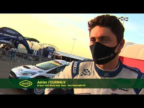 Rallye d'Italie-Sardaigne 2020, avec Adrien Fourmaux et Renaud Jamoul