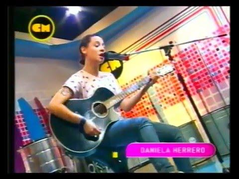 Daniela Herrero video Juntos a la par (Pappo) - Estudio CM 2012