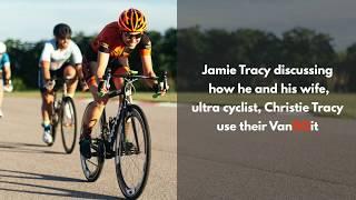 VanDOit Couple Share Their DIY Tricks for Vanlife as an Ultra Cyclist
