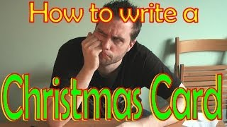 How To Write A Christmas Card
