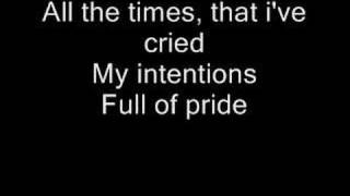 Staind-Outside(with lyrics)