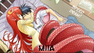 Miia  - (Monster Musume: Everyday Life with Monster Girls) - Speed Drawing: Miia (Monster Musume)