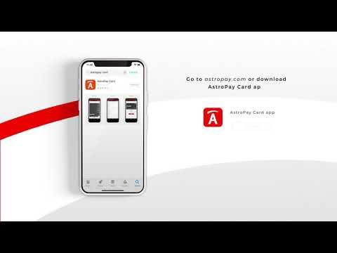 アストロペイカードの購入方法を解説する動画