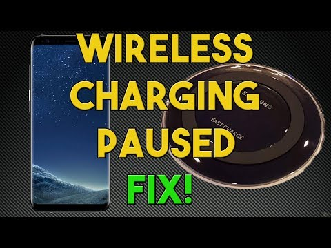 Wireless Charging Paused Fixed in seconds - New Fix That Works