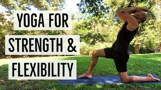 35 Minute Full Body Yoga for Strength & Flexibility with Antranik