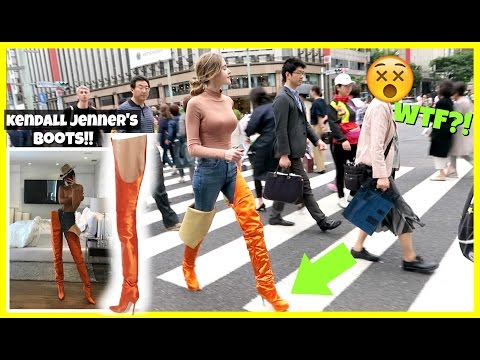 I Wore Kendall Jenner's Boots For A Day